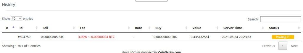 ExpressCrypto Exchange