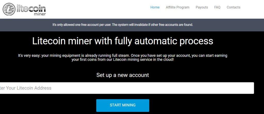 Ponzi Cloud Mining Scam