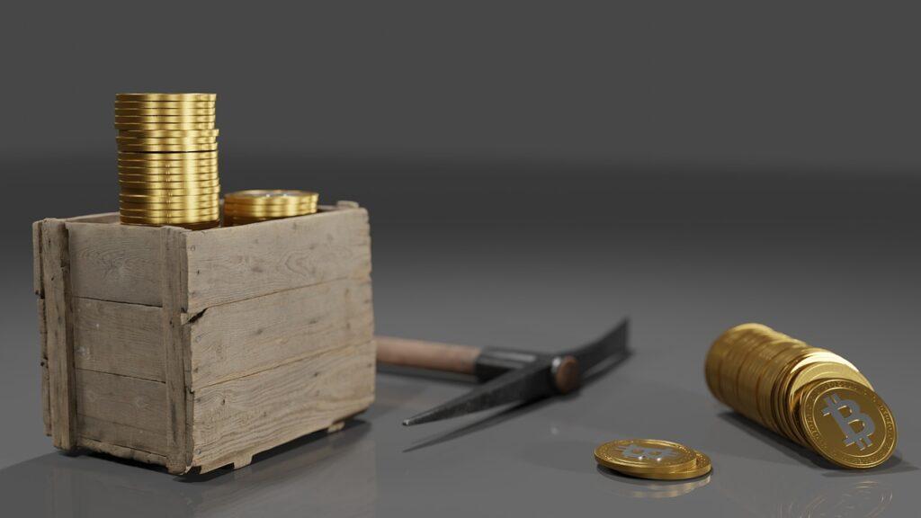 Mining Coins Bitcoin Money Finance  - QuinceCreative / Pixabay